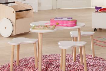 Lifetime Kidsrooms Kindertisch Klee